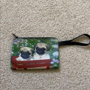 Smaller hand pug purse